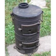 Печь чугунная Буржуйка (реконструированная)