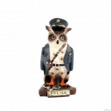 Сова - полицейский 6*5.5*12 см HOL19476